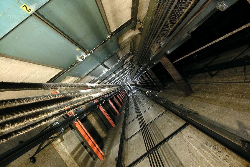 Pulizie vano ascensore